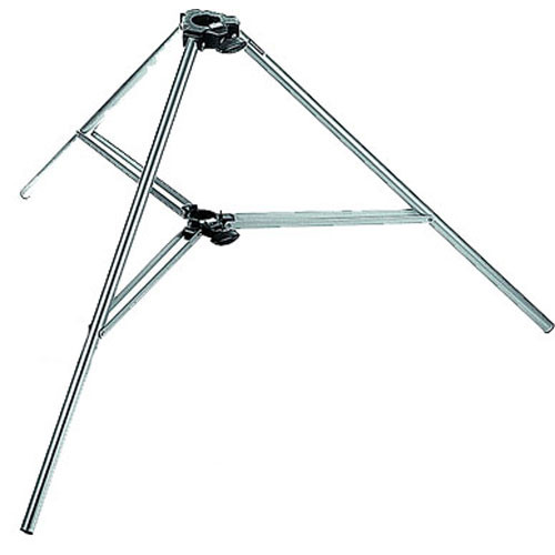 Manfrotto 032 Base Single Base For Auto-Pole - 2 Pack (Silver)
