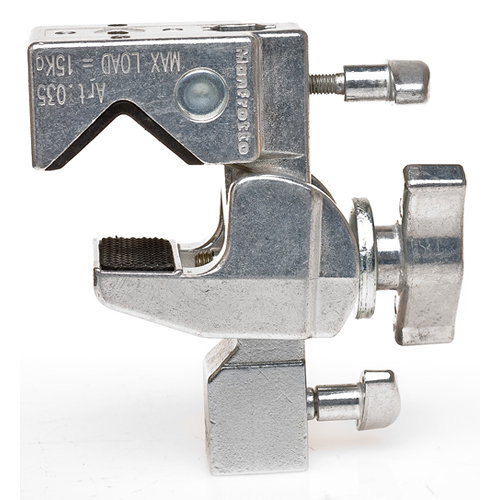 Manfrotto 035 Super Clamp without Stud with Second Socket (Chrome)