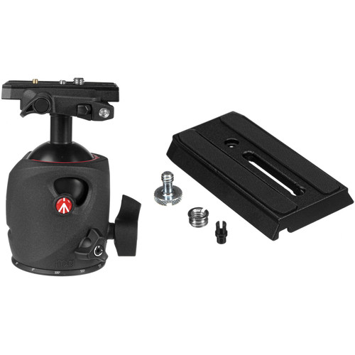 Manfrotto 057 Magnesium Ball Head Kit with 501PL Quick Release Plates