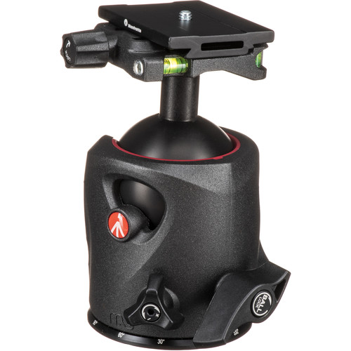 Manfrotto MH057M0-Q6 Magnesium Ball Head with Q6 Quick Release Kit