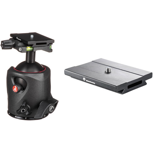 Manfrotto 057 Magnesium Ball Head Kit with MSQ6PL Quick Release Plates