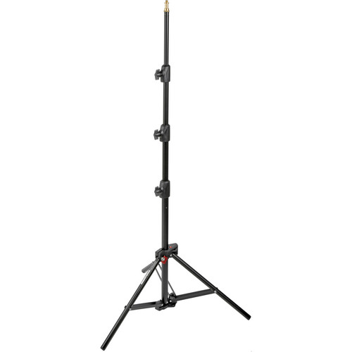 Manfrotto Alu Mini Compact Air-Cushioned Stand (Black, 7')