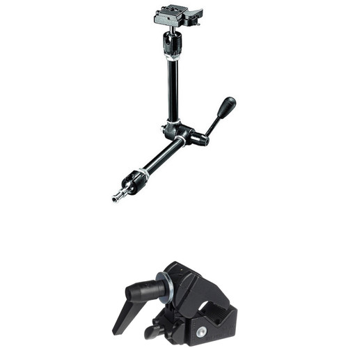 Manfrotto 143RC Quick Release Magic Arm with Super Clamp Kit