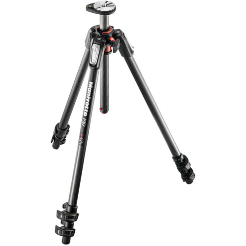 Manfrotto MT190CXPRO3 Carbon Fiber Tripod w/ XPRO Ball Head w/ Top Lock Quick Release System