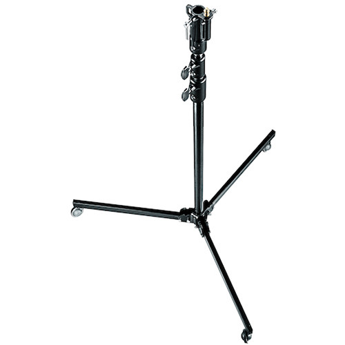 Manfrotto Aluminum 3-Section Studio Stand (Black, 9.8')