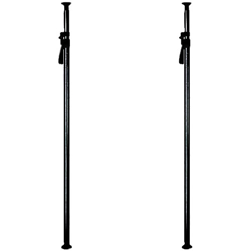 Manfrotto 432-3.7B Deluxe Autopoles, Black (Set of 2)