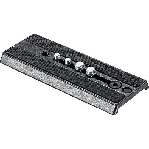 """Manfrotto 357PLV-1 Sliding Plate with 1/4""""-20 & 3/8""""-16 Screws"""