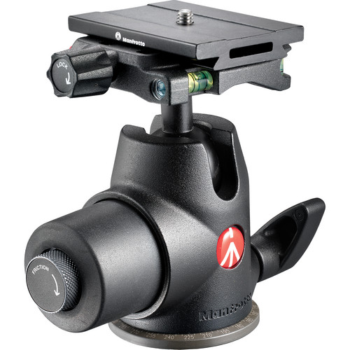 Manfrotto 468MG Hydrostatic Ball Head with MSQ6PL Quick Release Plate