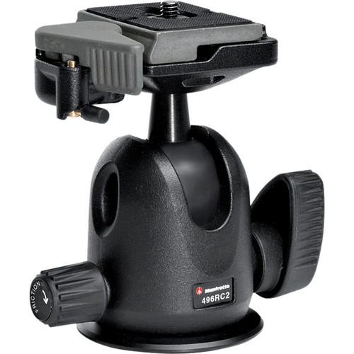 Manfrotto 496 Compact Ball Head with RC2 Kit