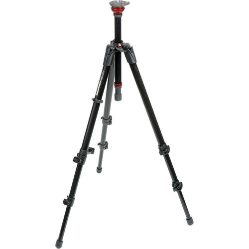 Manfrotto 755XB MDeVe Aluminum Video Tripod Legs & 700RC2 Mini Video Fluid Head Kit
