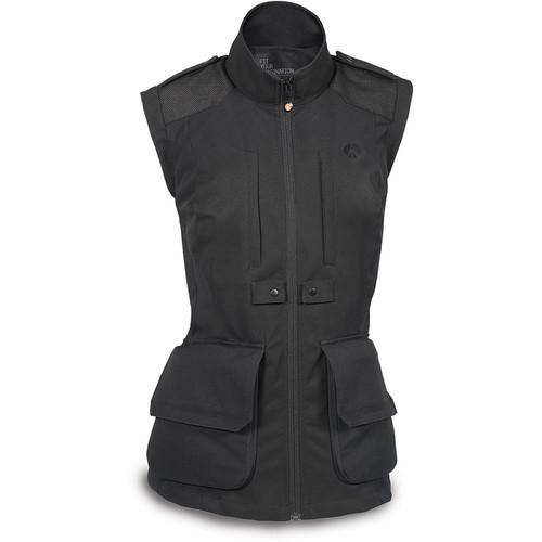 Manfrotto Lino Pro Photo Vest (Women's Small, Black)