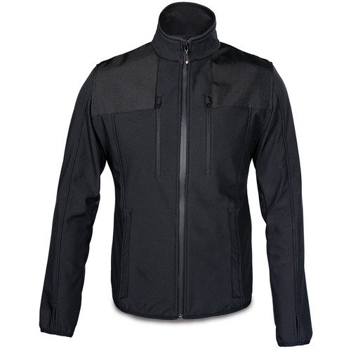 Manfrotto MA LSS050M-XSBB Pro Soft Shell Jacket for Men (XS, Black)