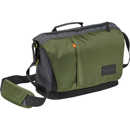 Manfrotto Street Camera Messenger bag for CSC/DSLR (Green and Gray)