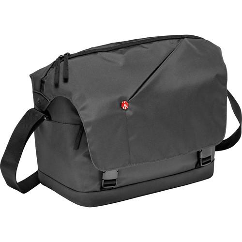 Manfrotto NX Messenger Camera Bag for DSLR/CSC (Gray  V2)
