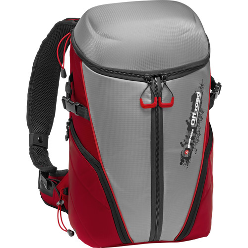 Manfrotto Off Road Stunt Backpack (Gray/Red)