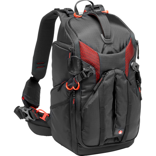 Manfrotto Pro Light 3N1-26 Camera Backpack (Black)