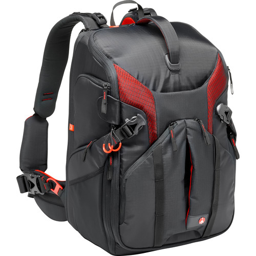 Manfrotto Pro Light 3N1-36 Camera Backpack (Black)