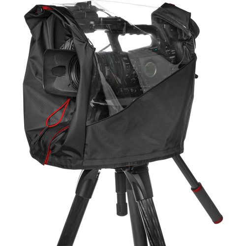 Manfrotto CRC-15 Pro Light Video Camera Raincover for Small Camcorder / DSLR Rig (Black)
