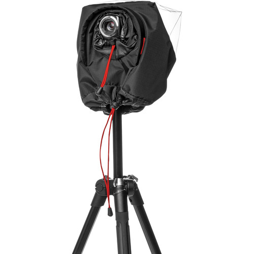 Manfrotto CRC-17 Pro Light Video Camera Raincover for Palm-Sized Camcorder (Black)