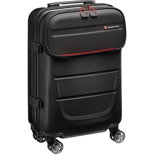 Manfrotto Pro Light Reloader Spin-55 Carry-On Camera Roller Bag (Black)