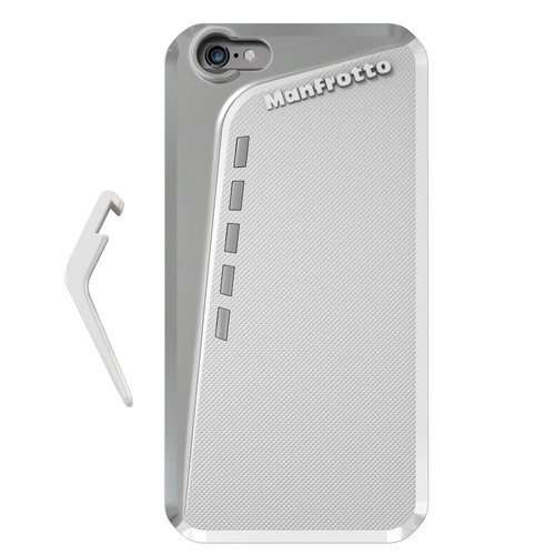 Manfrotto KLYP+ Photographic Bumper Case with Kickstand for iPhone 6 Plus/6s Plus (White)