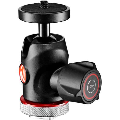 Manfrotto 492 LCD Micro Ball Head with Cold Shoe