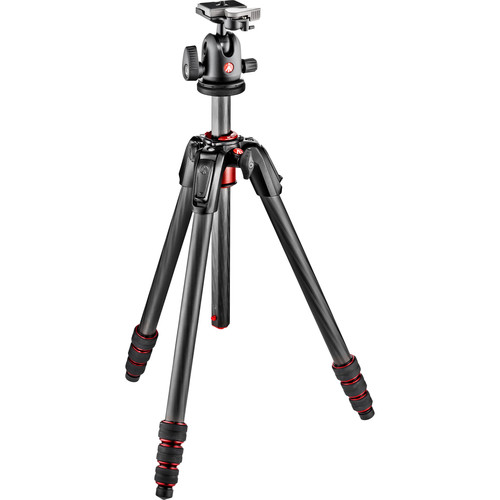 Manfrotto 190Go! Carbon Fiber Tripod Kit with Ball Head
