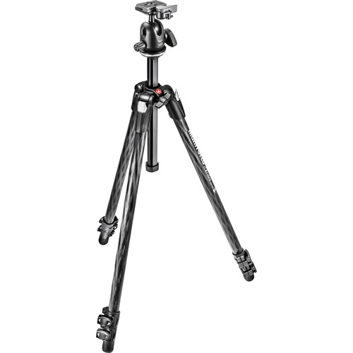 Manfrotto MK290XTC3-BHUS 290 Xtra Carbon Fiber Tripod with Ball Head