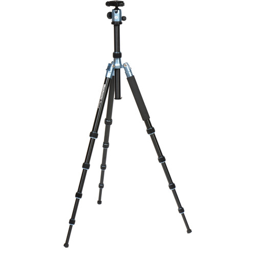 Manfrotto Element Big Aluminum Traveler Tripod (Blue)