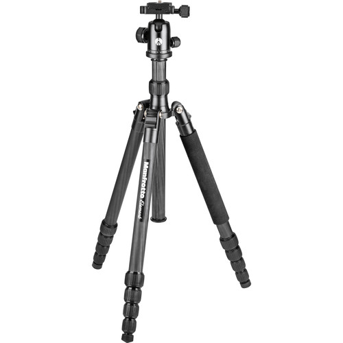 Manfrotto Element Carbon Fiber Big Traveler Tripod (Black)