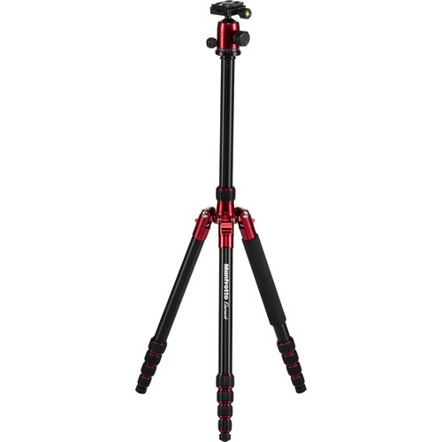 Manfrotto Element Big Aluminum Traveler Tripod (Red)