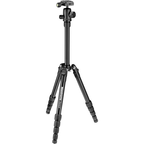 Manfrotto Element Small Aluminum Traveler Tripod (Black)