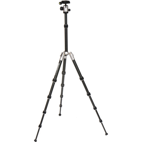 Manfrotto Element Small Aluminum Traveler Tripod (Gray)