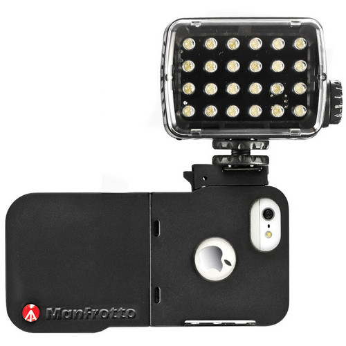 Manfrotto KLYP iPhone 5 Case with ML240 LED Light