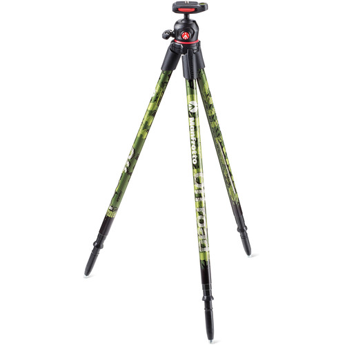 Manfrotto Off road Aluminum Tripod with Ball Head (Green)