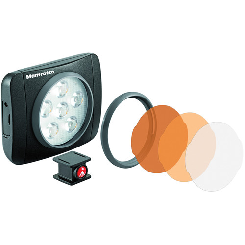 Manfrotto Lumimuse 6 On-Camera LED Light (Black)