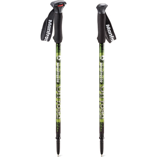 Manfrotto Off road Aluminum Walking Sticks (Green)