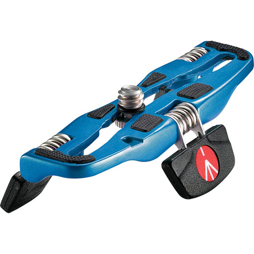 Manfrotto Small POCKET Tripod for Compact Cameras (Blue)