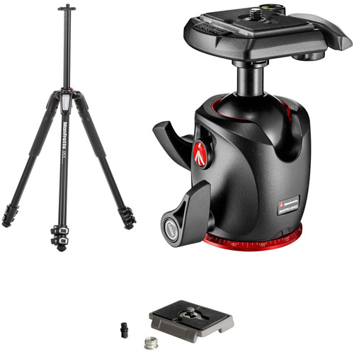 Manfrotto MT055XPRO3 Aluminum Tripod with MHXPRO-BHQ2 XPRO Ball Head Kit