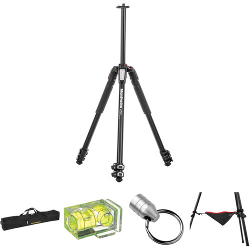 Manfrotto MT055XPRO3 Aluminum Tripod Deluxe Kit 9