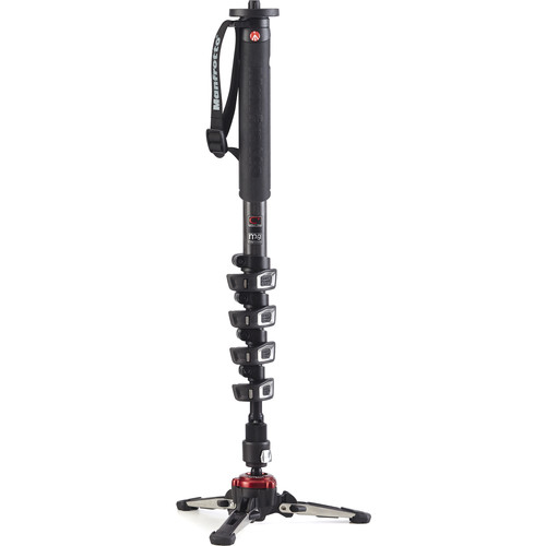 Manfrotto MVMXPROC5US Carbon Fiber XPRO Video Monopod+