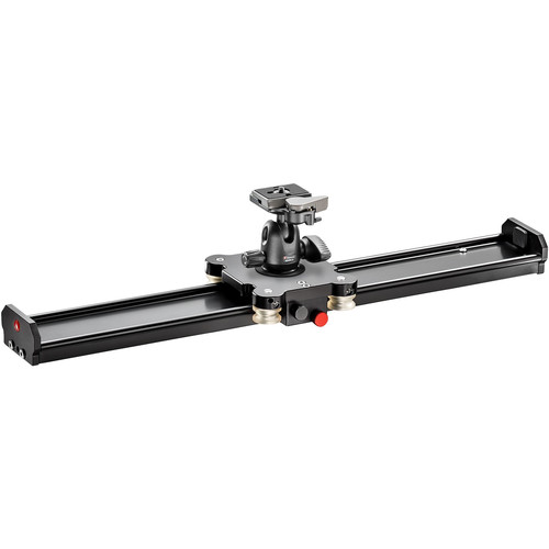 "Manfrotto Aluminum Camera Slider with Ball Head (24"")"
