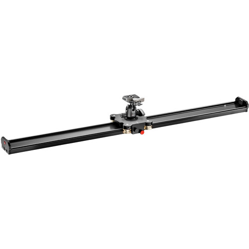 """Manfrotto Aluminum Camera Slider with Ball Head (39"""")"""
