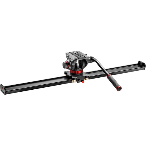Manfrotto Camera Slider and 502 Fluid Head Kit (3.3')