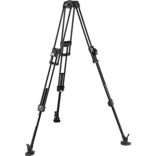 Manfrotto 645 FAST Twin Leg Video Tripod with Ultra L-Lock Mechanism (Aluminum)
