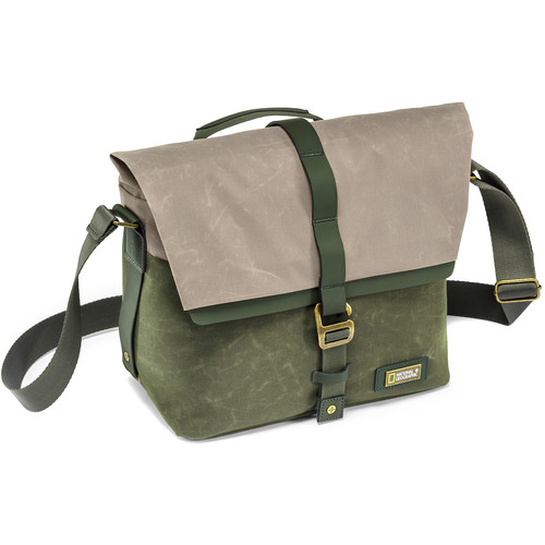National Geographic NG Rain Forest Camera Messenger Bag (Small, Green)