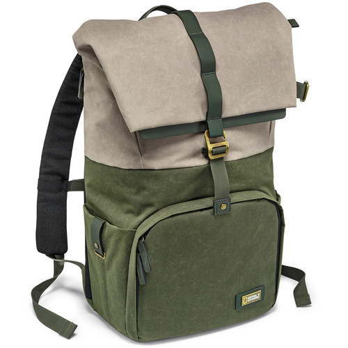 National Geographic NG Rain Forest Camera and Laptop Backpack (Medium, Green)