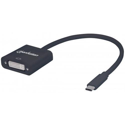 Manhattan USB 3.1 Type-C to DVI Converter