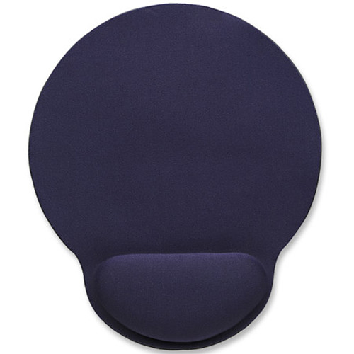 Manhattan Wrist-Rest Mouse Pad (Blue)