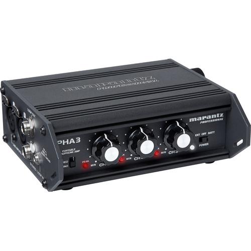 Marantz Professional PHA-3 Portable Stereo Headphone Amplifier